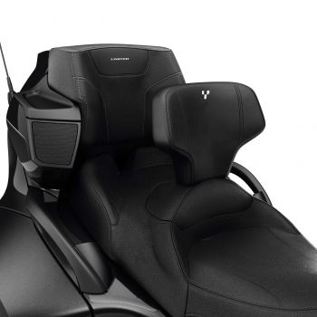 Verstelbare bestuurdersruggensteun voor Standaardzadel