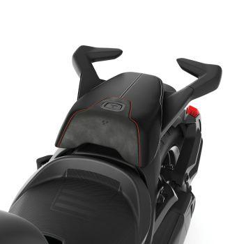 Comfortzadel voor passagier - Zwart