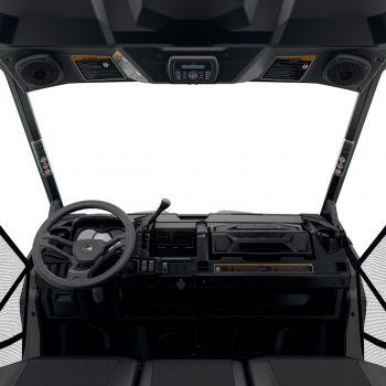 Compleet audiosysteem bovenaan