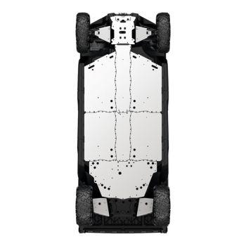 Kit met skidplates voor onderkant