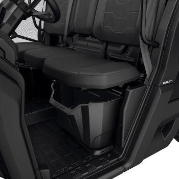 Opbergruimte onder bestuurdersstoel