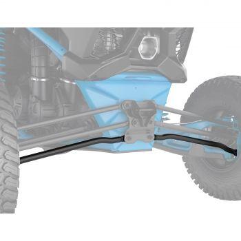 Gebogen onderste stangen ophanging (modellen van 183 cm)