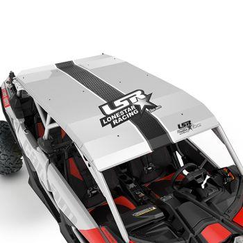 Lonestar Racing Aluminum Roof - Hyper Silver