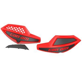 Handlebar Wind Deflectors (Viper Red)